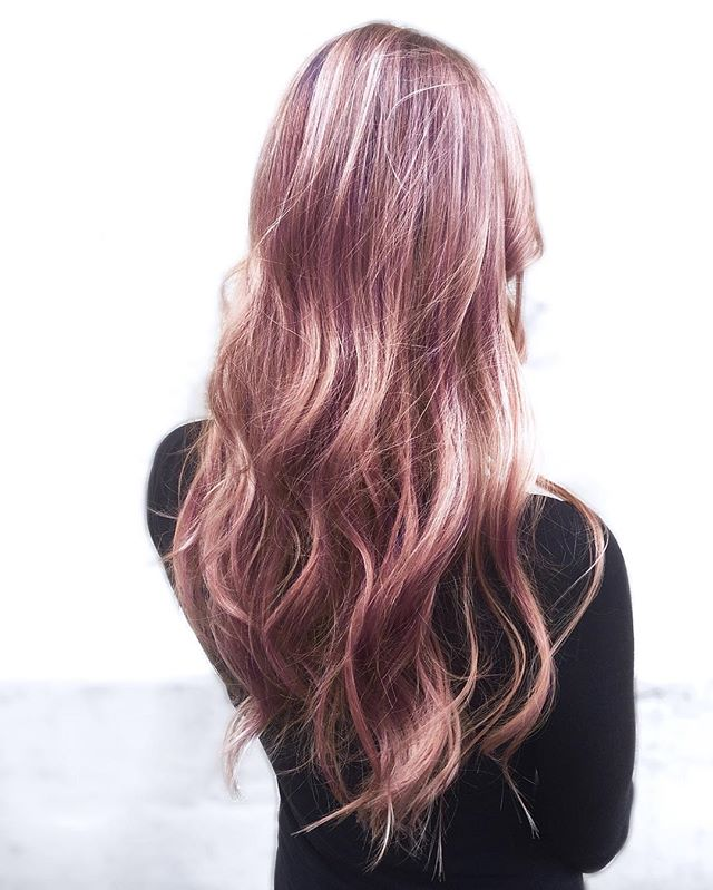 METALLIC ROSÉ 🌸 Just In Love With These Tones 💓 By Melody _melody_rossmichaels