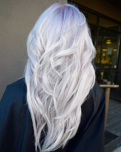 ❄️Ever wonder how we achieve some of our most Icy Blondes_❄️ Check out our Behind The Chair Article