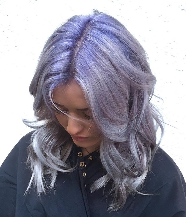 Hot Lavender Root On Silver. 💜 GOALS AF