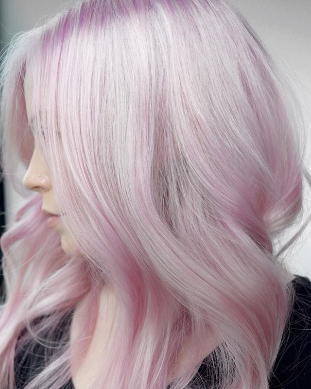🍥Pink Platinum🍥 Achieving The Palest Of Pinks Isn't Easy, But Totally Worth It! 💗 By Michael & Me