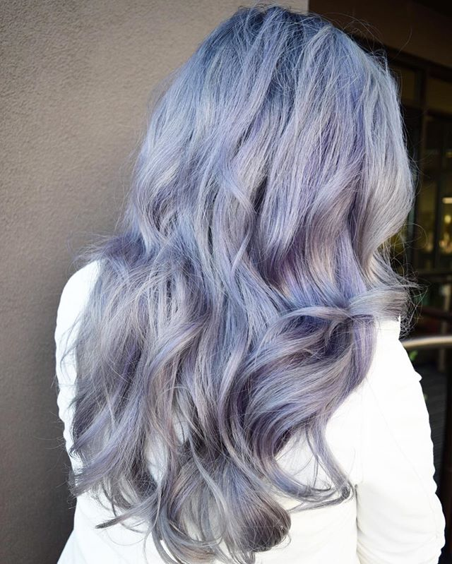 L A V E N D E R  M I S T Silver & Lavender can be a challenge but the end results make it all worth