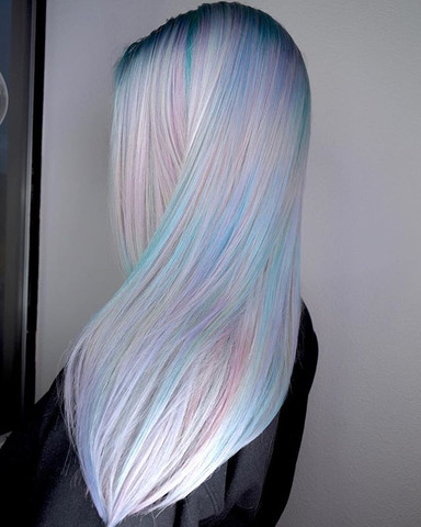 🦄🌟StarLit Hair🌟🦄 When You Have An Aura So Bright, Your Hair Is Magic. By Michael & Melody Using _pravana Vivids Treated With _olaplex_.jpg.jpg.jpg