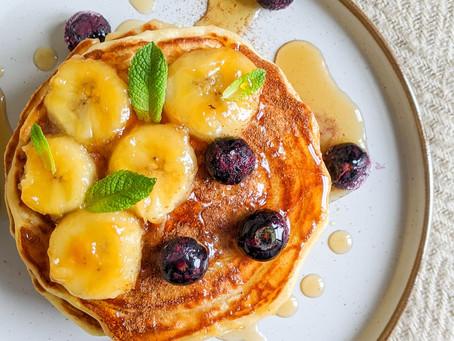 Easy & Fluffy Ricotta Pancakes 🥞