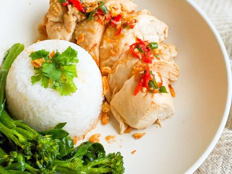 Oma's Hainan Chicken Rice 🇸🇬🐓