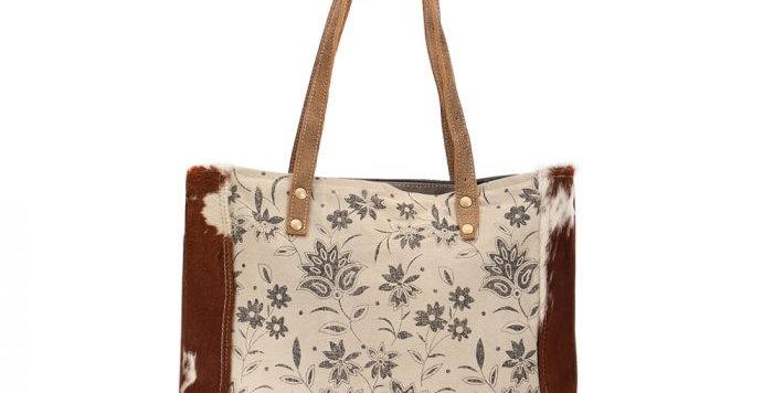 Sunburned Hairon Stripe Tote Bag
