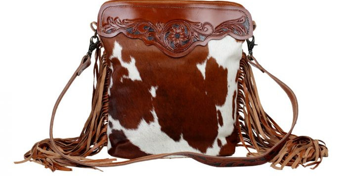 Cowboy Hand-Tooled Bag