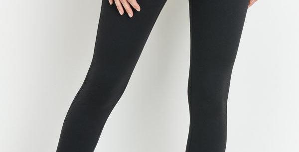 Mono B Strap Tie Detail Leggings