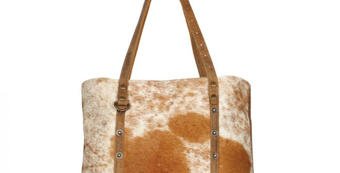 Opulent Leather and Hairon Bag
