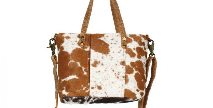 Aptitude Leather and Hairon Bag