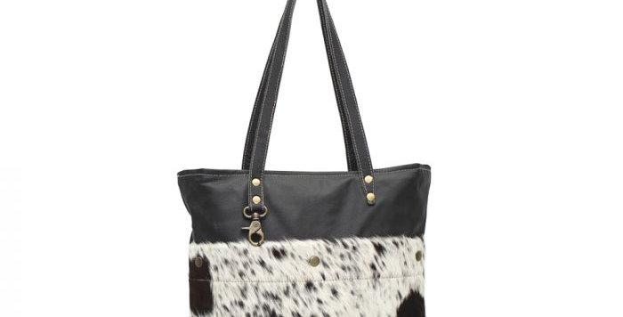 Black Shades Hairon Tote Bag