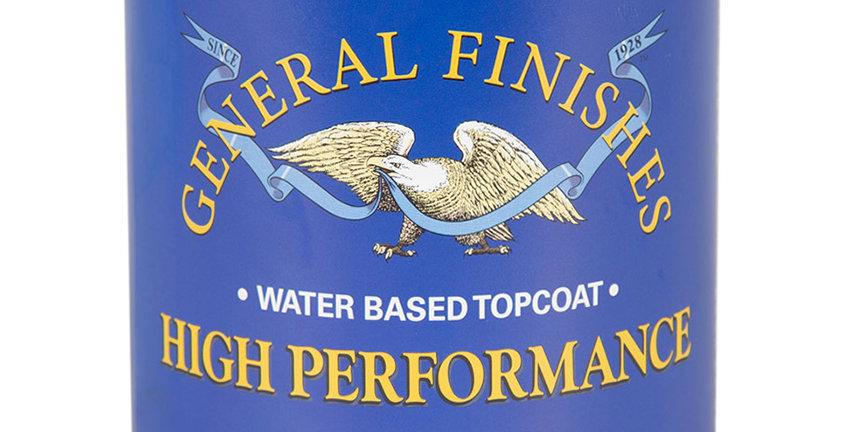 Satin Water Based Topcoat