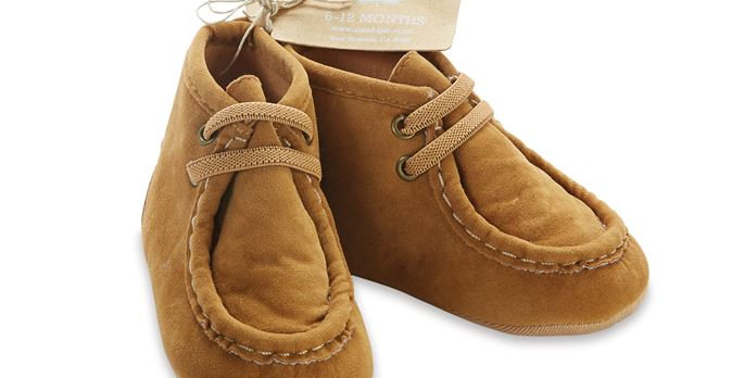 Faux Suede Moccasin Boots