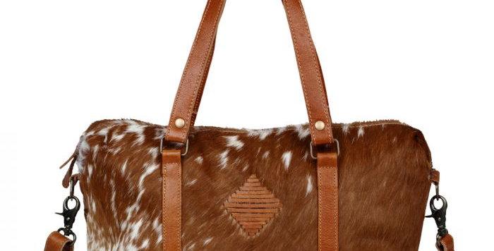 Leather Lust Mini Duffle Bag