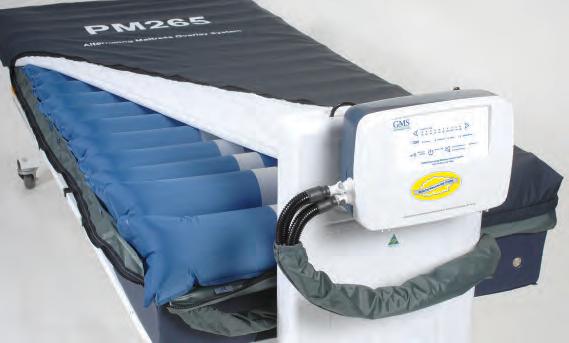 Alternating Air Mattress Overlay system