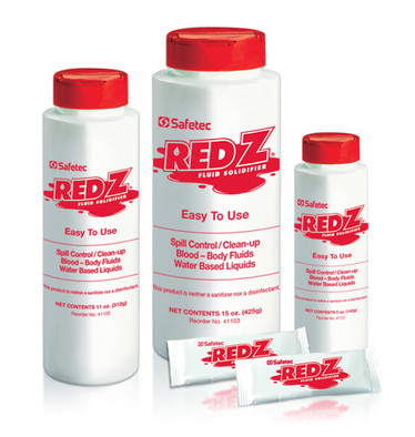 Red ZSpill Control Solidifier