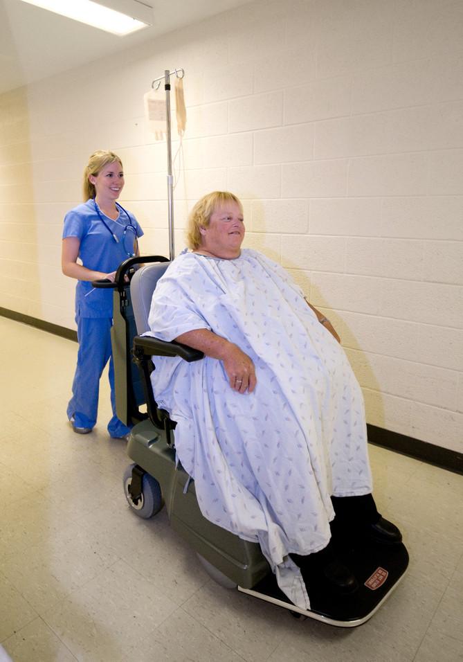 Bariatric Patient Escort Mover