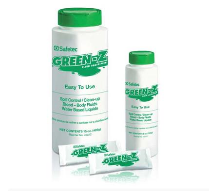 Green ZSpill Control Solidifier