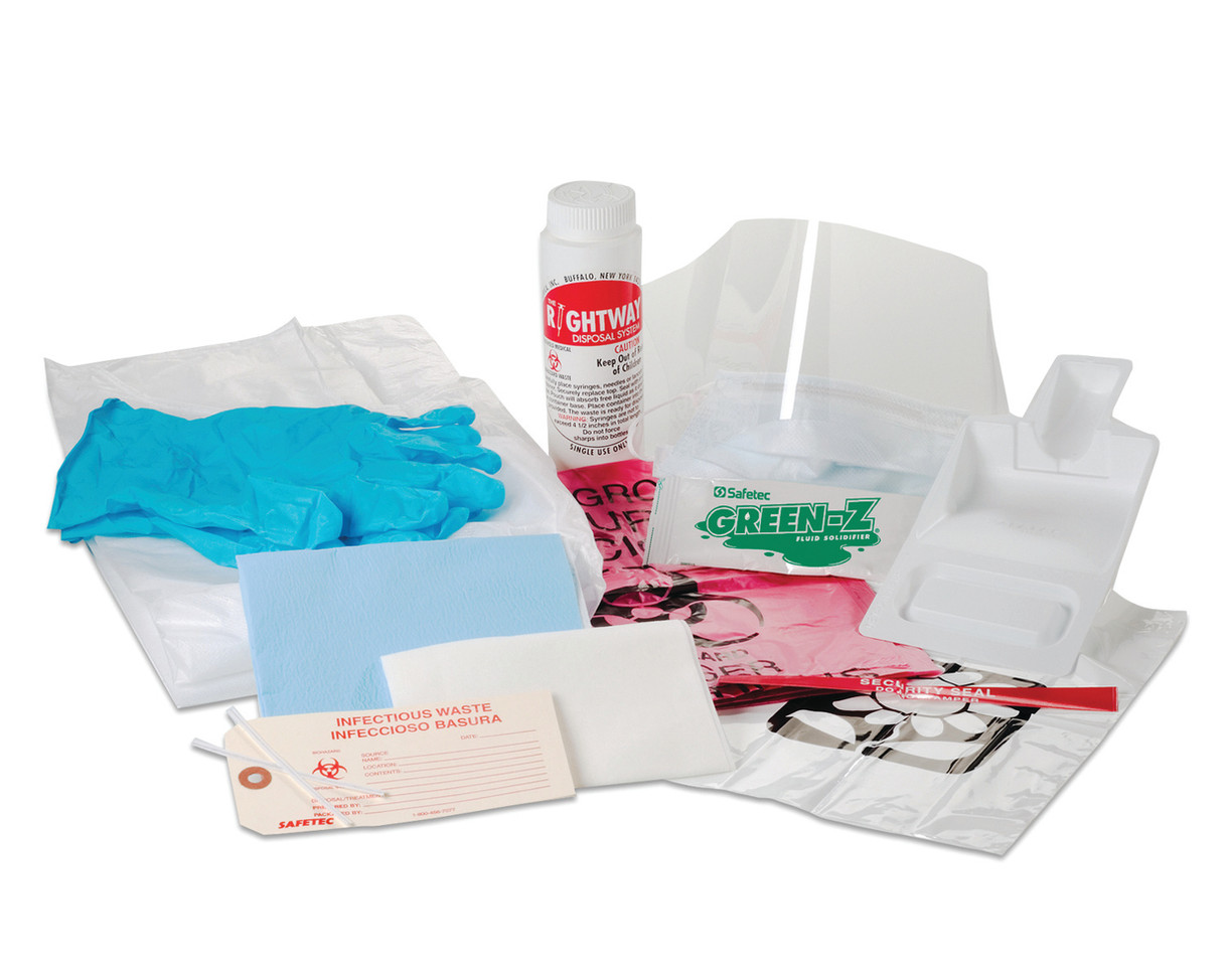 EZ Cleans Mercury Spill Kit
