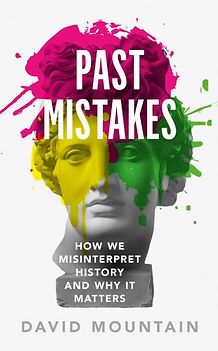Cover of book Past Mistakes by David Mountain