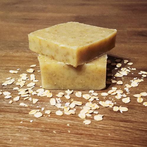 Organic Lavender Oatmeal Heavy Exfoliating Soap