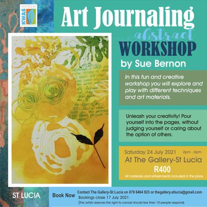Abstract Art Journaling Workshop