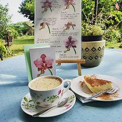 Coffe and Milktart from the CoffeeArtBar