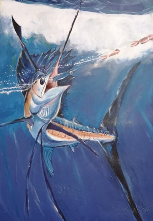 Marlin Chasing Lure