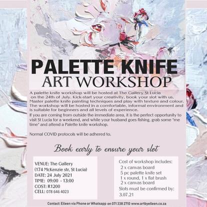 Palette Knife Workshop