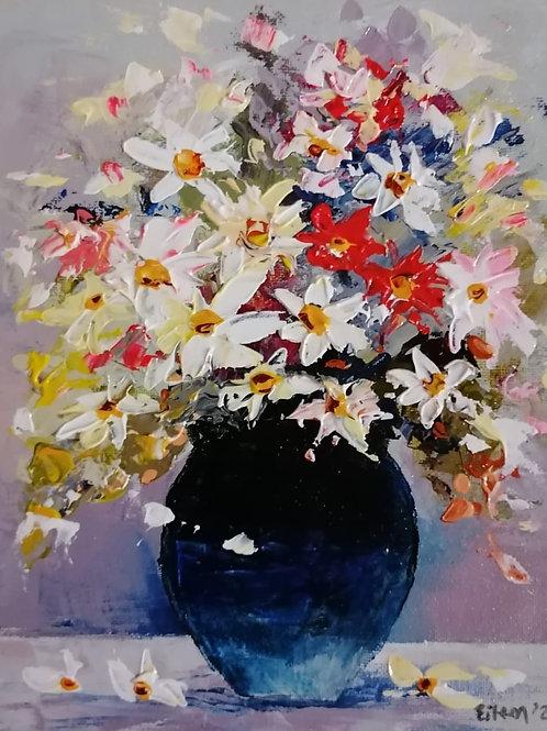 Bowl of Daisies