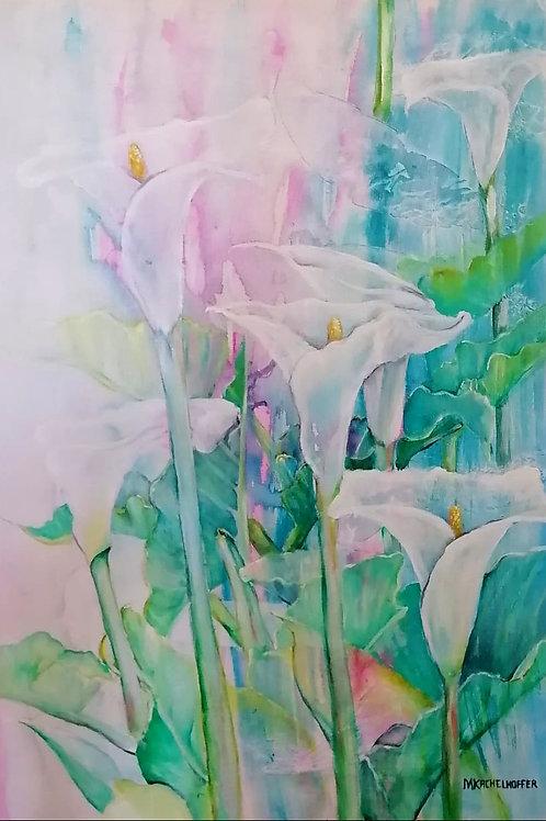 Misty Lilies