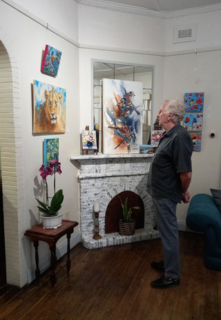 A country art gallery
