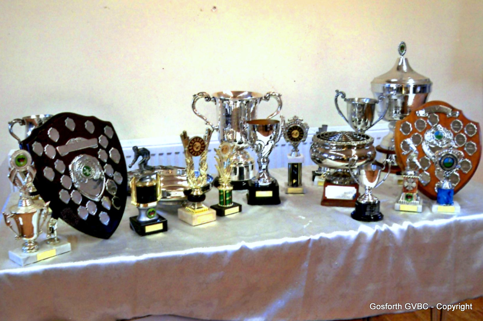 The Clubs Silverware