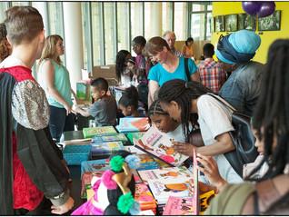 Weer een geslaagd Kinderboekenfestival in het Bijlmer Parktheater in 2016