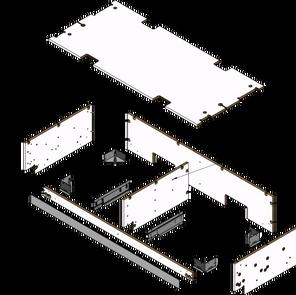 4' Drawer Box