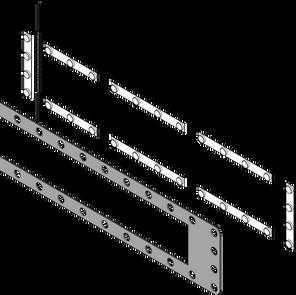4' Light Box Header Replacement Panel