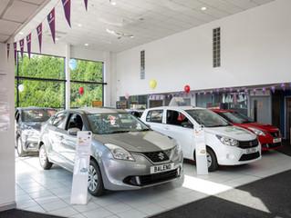 Suzuki Showroom Silent Salesman Stands