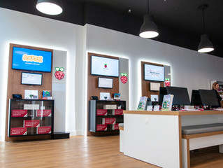 Raspberry Pi Concept Store in Cambridge