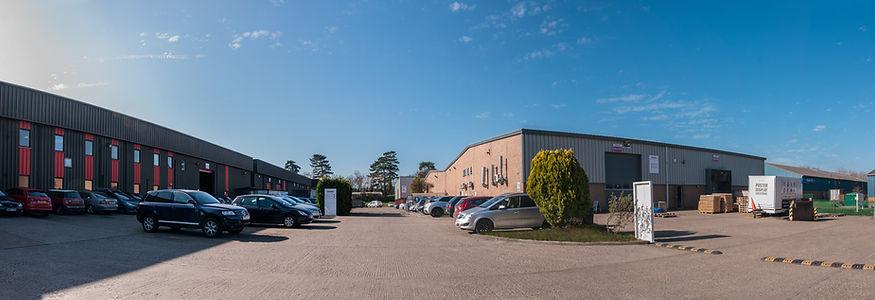 Newmarket, Suffolk - site exterior
