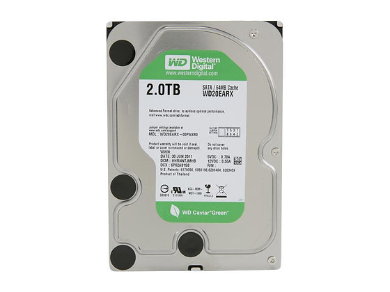 Western Digital WD Green WD20EARX 2TB