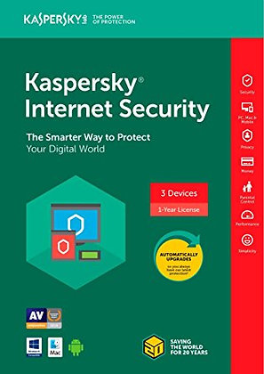 Kaspersky Internet Security (1 Year)