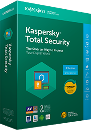 Kaspersky Total Security (3 Devices, 1 Year)