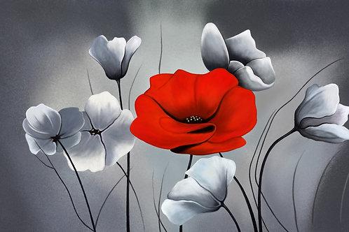Картина на холсте - Маки