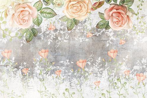 Дизайнерские фотообои - Garden rose