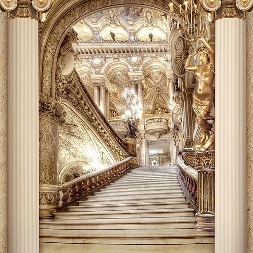 Фотообои или фреска - Во дворце