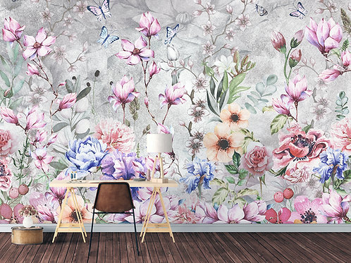 Фотообои или фреска - Flowers