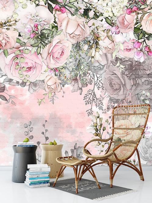 Дизайнерский фотообои - Нежность роз