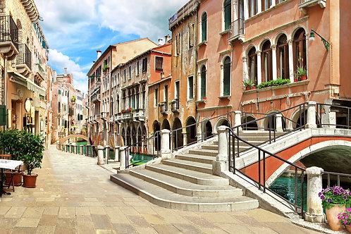 """Фотообои или фреска """"Мост в Венеции"""""""