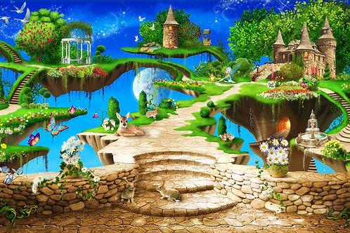 Детские фотообои - Сказочные острова