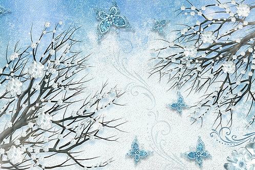 Дизайнерские фотообои - Зима