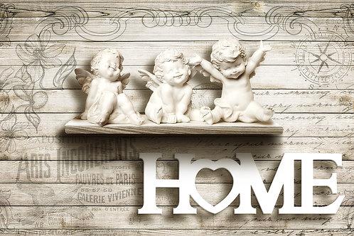 3д фотообои - Ангелы HOME